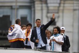 Cristiano Ronaldo: «Gracias ... y hasta el próximo año»