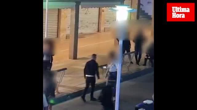 Un vídeo muestra cómo las prostitutas acosan a los turistas en Punta Ballena