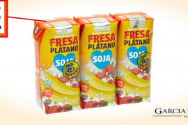 Mercadona retira un lote de la bebida de Fresa Plátano Soja