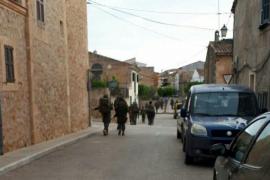 Críticas en la red a la presencia del ejército en Vilafranca