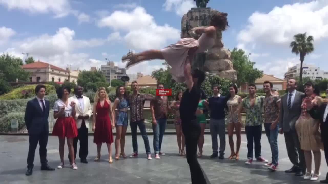 'Dirty Dancing' se promociona por las calles de Palma