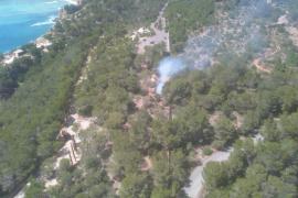 Extinguido el incendio forestal en Sant Josep