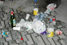 La nueva ordenanza contra el botellón en Marratxí prevé sustituir multas por trabajos comunitarios