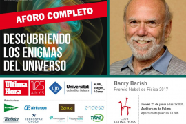 Barry Barish, Nobel de Física 2017, impartirá en Palma una conferencia