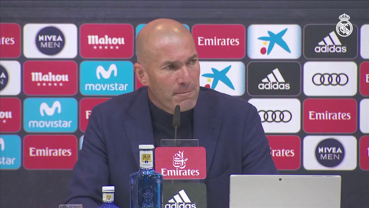 Zidane anuncia que abandona el Real Madrid