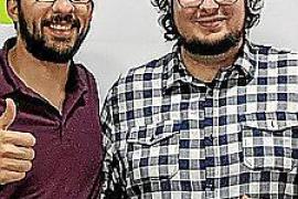 Germán Martínez y Sergio Larios