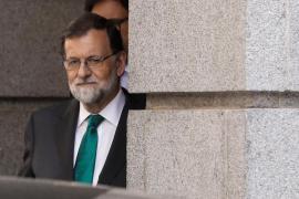 Rajoy abandona el Congreso y se ausenta del debate de la moción