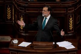 Mariano Rajoy, durante su intervención