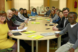 Ensenyat, Santiago, Balboa y Busquets presentan sus candidaturas a las primarias de MÉS