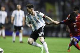 La selección argentina prepara el Mundial en Barcelona