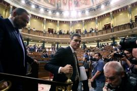 La izquierda, catalanes y vascos apoyan la moción y harán presidente a Sánchez