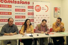 UGT y CCOO estudian demandar al Govern por el recorte de las ayudas