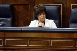 Torra se querella por «prevaricación» contra Rajoy y Sáenz de Santamaría