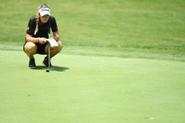 Luna Sobrón, a tres golpes del liderato en el US Open de golf