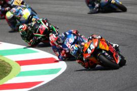 Joan Mir se sube al podio en el Gran Premio de Italia