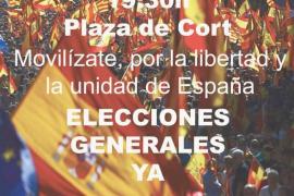 Sociedad Cívica Balear plantea su primer acto público junto a 'gonelles' y provida