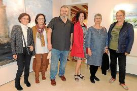 Exposición de Núria Bosch, Pilar Correa, Anna Lísa Eller y Petrana Dimitrova en la Fundación López Fuseya, de Palma