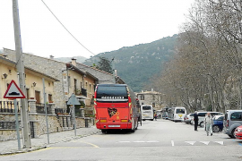 Los autocares turísticos tendrán que reservar plaza de estacionamiento en Valldemossa en temporada alta
