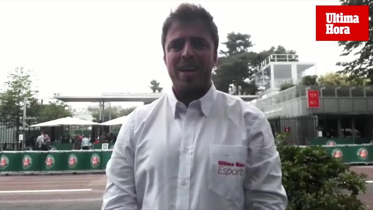 Tolo Jaume ve «favorito» a Nadal en su duelo de Roland Garros ante Schwartzman
