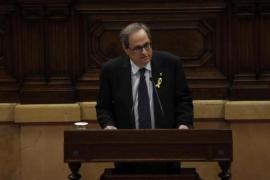 """Torra promete diálogo con Sánchez pero no se """"rendirá"""" con la república"""