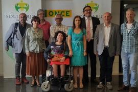 Hotel Es Convent y la coordinadora de Trasplantes, premios ONCE Baleares 2018