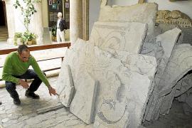 Finaliza la restauración de los mosaicos romanos de Pol·lèntia