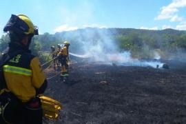 Extinguido un incendio en Pòrtol