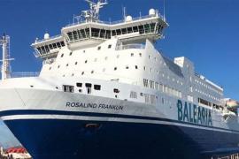 Baleària incorpora un nuevo ferry con un 35 % más de bodega en la ruta Barcelona-Palma