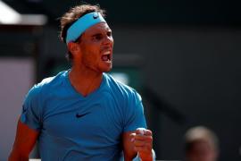 Rafa Nadal barre a Del Potro y jugará su undécima final de Roland Garros
