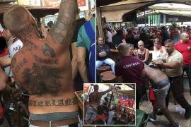 Expulsan a un turista por gritar 'Heil Hitler' en una cervecería de la Playa de Palma