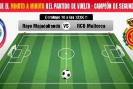 Así te hemos contado el Rayo Majadahonda-Real Mallorca