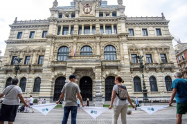 El Athletic Club de Bilbao muestra su apoyo a la reivindicación del derecho a decidir en Euskadi