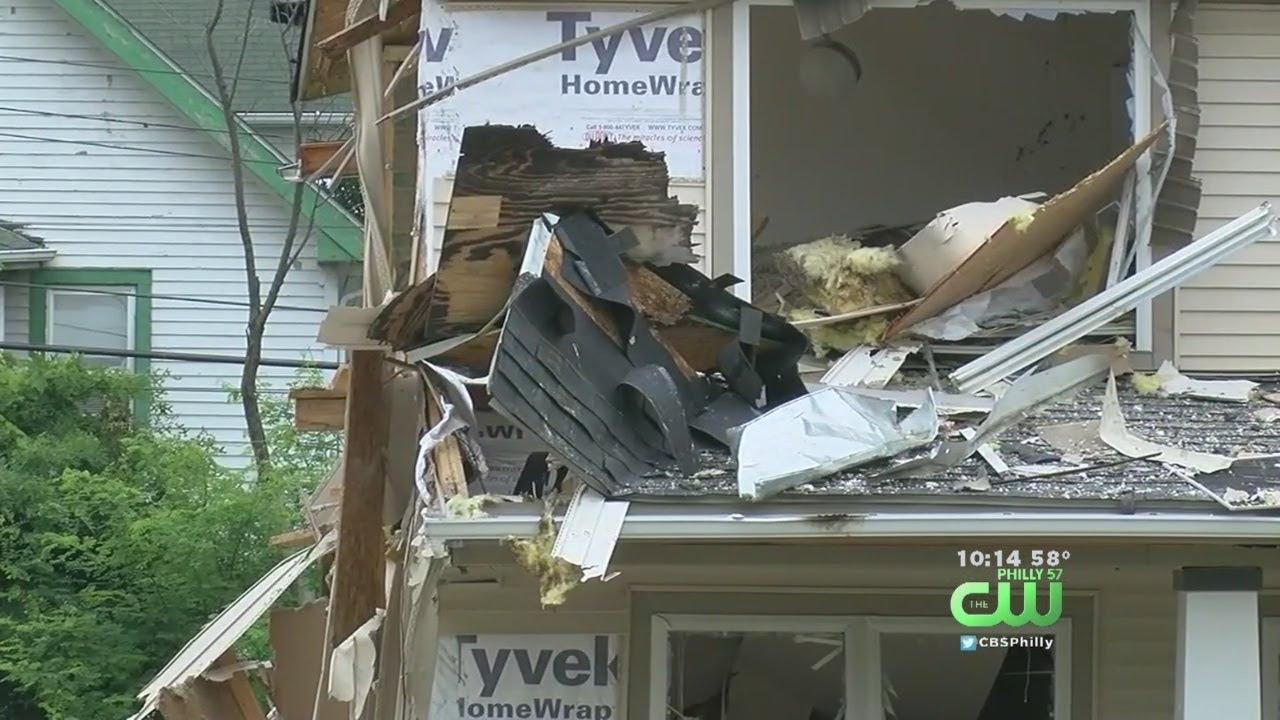 El espectacular destrozo de una explosión mortal en una casa