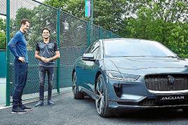 Andy Murray conduce el nuevo eléctrico Jaguar I-Pace
