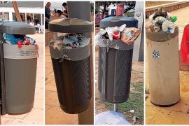 La policía denuncia la falta de limpieza en la Playa de Palma a partir de la tarde