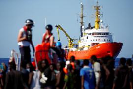 El Gobierno se plantea ofrecer el puerto de Palma al buque 'Aquarius' tras descartarse Valencia