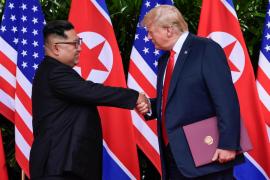 Trump y Kim firman un «amplio acuerdo» al final de su histórica reunión
