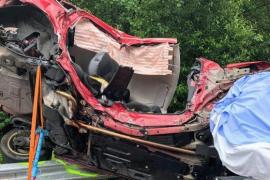 La muerte de dos hermanos en un brutal accidente de tráfico causa conmoción en A Coruña