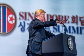Trump avisa que las sanciones a Corea del Norte se mantendrán
