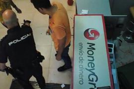 Violenta pelea en un locutorio de Palma