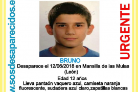 Buscan a un niño desaparecido en León