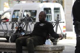 Detención 'de película' de un hombre en Palma