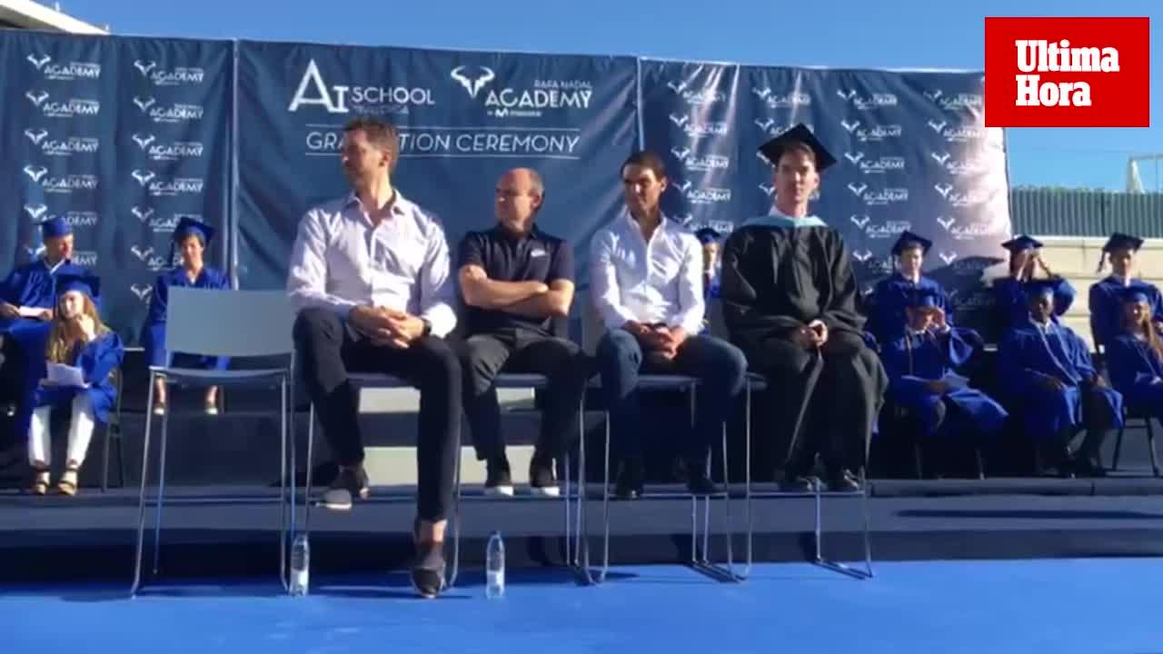 Nadal y Paul Gasol distinguen a los nuevos graduados de la Rafa Nadal Academy