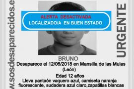 Localizan en buen en estado al menor desaparecido en León