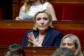 Le Pen, a los inmigrantes rescatados en el Mediterráneo: «hay que llevarlos al puerto de partida»