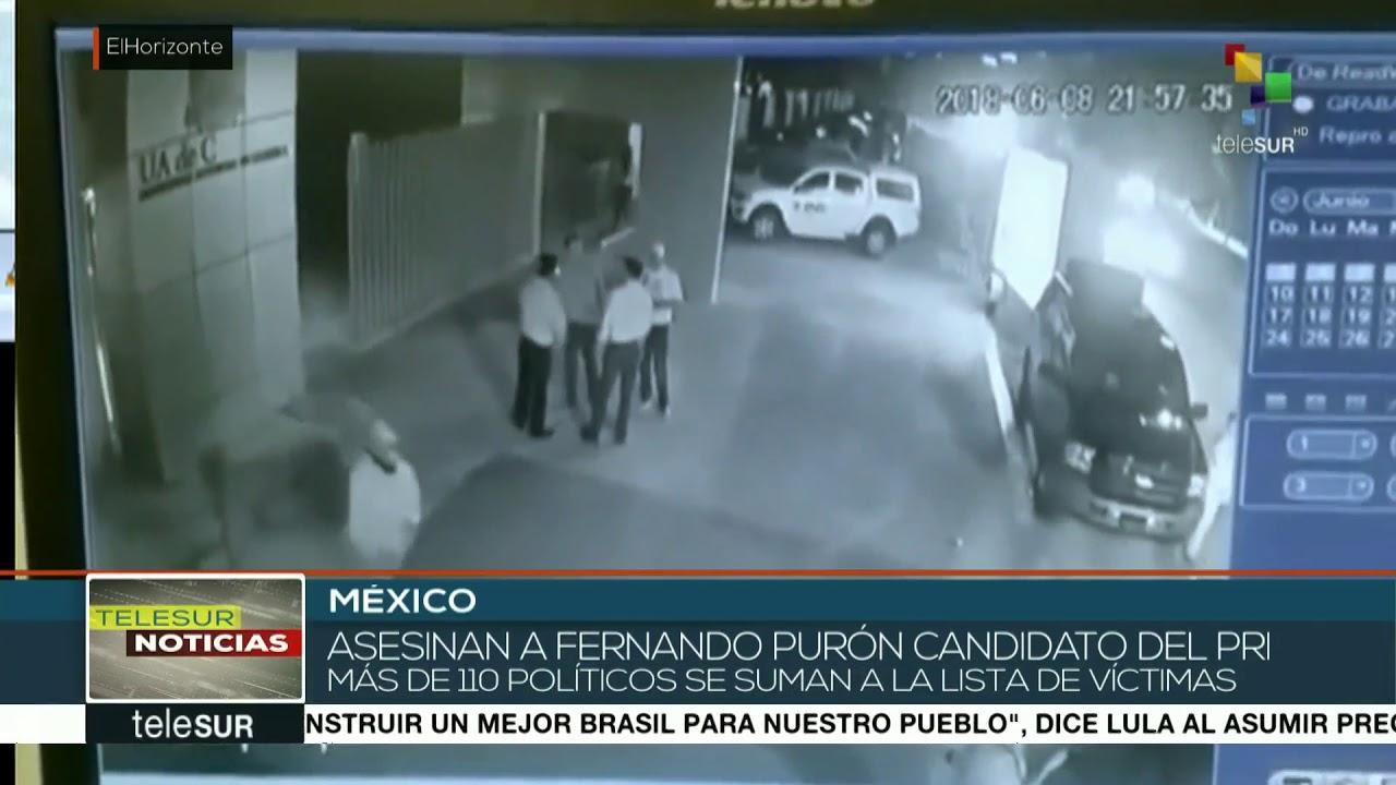 Un candidato mexicano, asesinado a tiros mientras se hacía un selfie