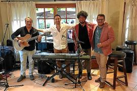 Nelson Bermúdez, Sergi Selles, Xema Borrás y Ernesto Rodríguez.