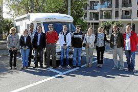 El Consistorio presenta la primera área para autocaravanas gratis de Mallorca