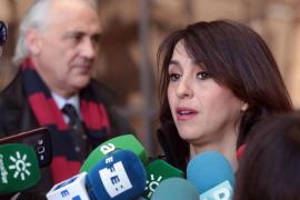 Juana Rivas, a su llegada al juzgado: «Soy inocente y se va a demostrar muy pronto»