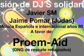 Varios DJs ponen música a una sesión solidaria en La Movida